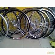 Колесо на велосипед фото