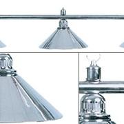 Лампа на три плафона Elegance D35 (серебристая) фото