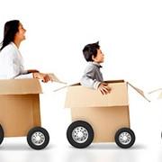 Быстрая организация офисного, квартирного, дачного переезда. Услуги перевозки мебели и бытовой техники,упаковка фото