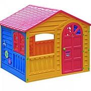 Детский пластиковый домик [[MY_OWN_QUOTE]]Игровой[[MY_OWN_QUOTE]] Marian Plast 360 фото