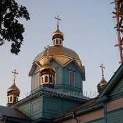 Монтаж купола фото