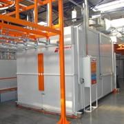 Оборудование для предварительной химической обработки поверхности и порошковой окраски металлоизделий, установки очистки сточных вод компании «MONKIEWICZ» (Польша) - оборудование для нанесения порошковых красок компании «NORDSON» (США) фото