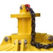 Траверса для захвата электромагнита грейфером экскаватора ПГ-10-117 (130-155) фото