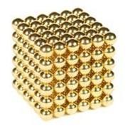 Магнитные шарики неокуб золото # фото