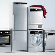 Крупная бытовая техника, холодильники, газовые плиты, электрические плиты, стиральные машины, посудомоечные машины, морозильные камеры, морозильные лари, фото