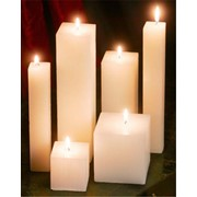 Свечи бытовые, рождественские, ритуальные фото