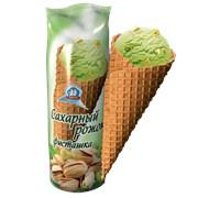 Мороженое Рожок Фисташковый 100гр  фото