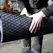 Футеровочная резина. Ширина 2000 мм. Толщина 10 мм фото