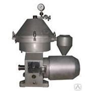 Сепаратор-молокоочиститель 5000л/час автовыгрузкой фото