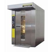 Gima Forni ROTOR 6080 Печь электрическая в комплекте тележки : 2 тележки на 20 листов 60X80, листы алюминизированные плоские 60х80 40 шт. фото