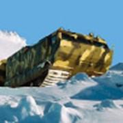 Модернизированный двухзвенный гусеничный транспортер ДТ-10ПМ фото