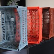 Пластмассовые ящики для фруктов фото