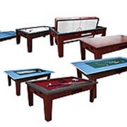 DBO Игровой стол - многофункциональный «Dybior Mistral» (коричневый) фото