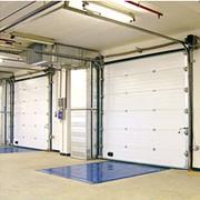 Секционные ворота ISD01 фото