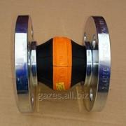 """Резиновый компенсатор вибровставка гибкая DN25 1"""" Elaflex ERV-OR для пропан-бутана, сжиженного газа, моноблоков, газовозов, насосов, газовых модулей, газовых цистерн, полуприцепов, ГНС. фото"""