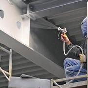 Нанесение защитных покрытий, покраски на металлоконструкции, промышленный альпинизм фото