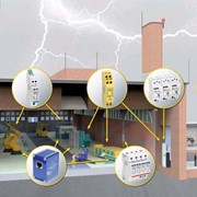 Устройство молниезащиты зданий и сооружений фото