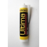 Герметик Ultima U силиконовый б/цвет. универсальный 280мл. 0802 /12/ фото