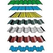 Профнастил несущий Н57 Цинк/полимер Зеленый фото