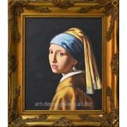 """Картина """"Девушка с жемчужной сережкой"""" 51х61 фото"""