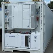 Сервисное обслуживание холодильных агрегатов рефрижераторных контейнеров фото