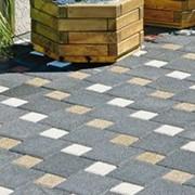 Тротуарная плитка - Квадрат 40мм. фото