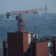 Монтаж башенного крана Yangmao ST 5515 фото