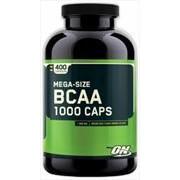 Optimum Nutrition BCAA 1000 (400 кап). Аминокислотный комплекс. фото