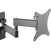 "Кронштейн для телевизора Ultramounts UM 875 черный 13""-27"" макс.20кг настенный поворот и наклон фото"