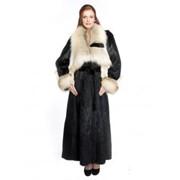 Пальто меховое женское к5632 фото