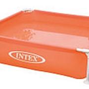 Каркасный бассейн Intex 57171 122x122x30 Красный фото
