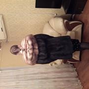 Шикарная норковая шуба с соболем фото