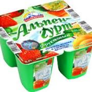 Йогурт Альпенгурт 0,1% кл-перс-марак 100 гр фото