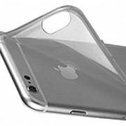Бампер для iPhone 6 plus силиконовый (прозрачный чехол) фото