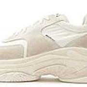 Женские кроссовки Balenciaga Triple S 2.0 Suede White фото