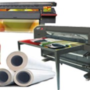 Оборудование и расходные материалы для широкоформатной печати фото