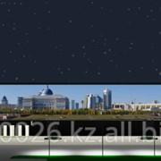 Размещение рекламы на LED фасаде гипермаркета Кенмарт фото