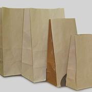 Бумажный пакет на вынос, 240х120х85 фото