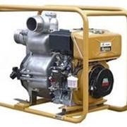 Дизельная мотопомпа для сильнозагрязненных вод PTD306T фото