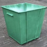 Продам мусорный бак 0,75 м. куб. толщиной 1,2 мм фото