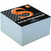 Блок бумажный, белый, разм. 9х9х5 см, офсет 65 гр (SPONSOR) фото
