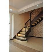 Лестница дизайн D055 фото