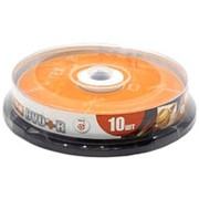 Оптический диск DVD плюс R 4.7 Гб Mirex в тубе 10шт. фото