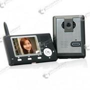 Беспроводный видео домофон с ночным видением, с возможностью сохранения фотоснимков фото