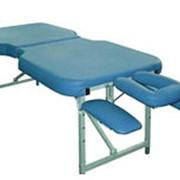 Массажный стол Fysiotech Физиотех COMPACT MAXI Складной фото