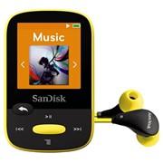 Фоторамка цифровая SanDisk SDMX24-004G-G46Y, МР3 Sansa Clip Sports 4GB Yellow (желтый) фото