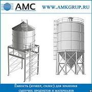Вертикальные стальные резервуары фото