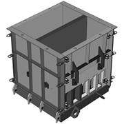 Металлоформа для отливки утяжелителя бетонного УБО-1220 фото