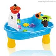 Стол для игр с песком и водой Пиратский корабль фото