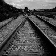 Рельсы железнодорожные фото